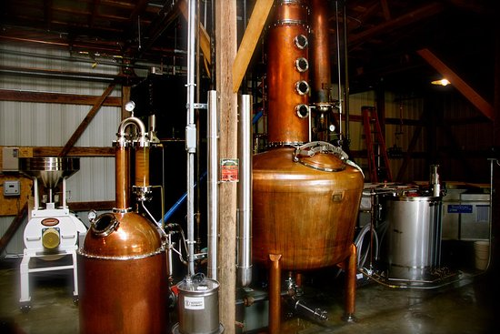 Woodbury, TN: Short Mountain Distillery Interior