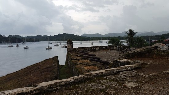 Portobelo National Park: The bay from the grounds of the Portobelo fort.