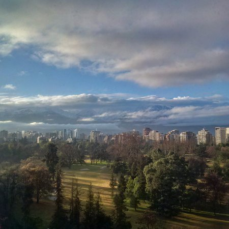 Atton Vitacura: View from my hotel room... simply beautiful winter day