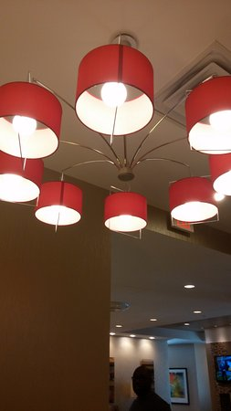 Cool Lighting Fixtures In Lobby Picture Of Residence Inn