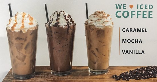Colonial Ice Cream Restaurant: Iced Coffee Options