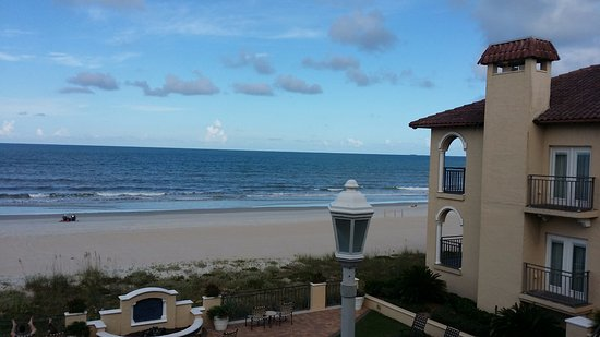 Ponte Vedra Beach, FL: View from our Deluxe Ocean View Room patio