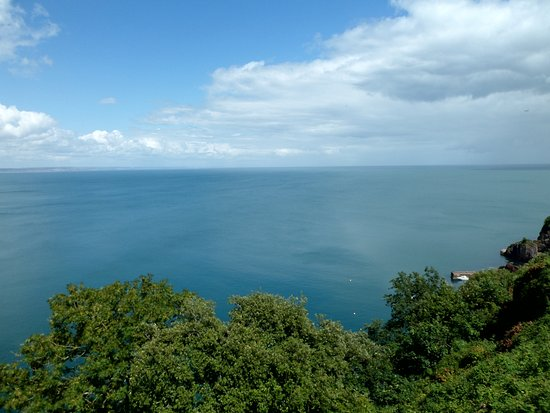 The Downs, Babbacombe: View from balcony