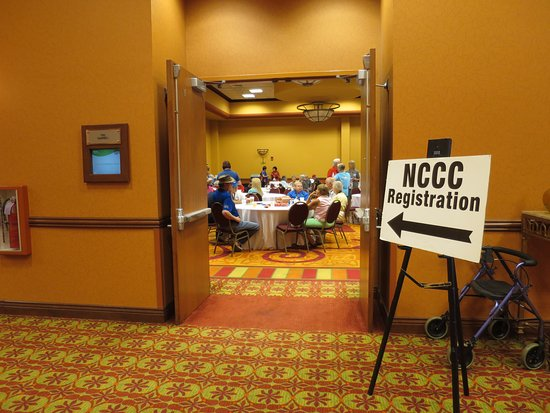La Vista, NE: One of the rooms needed for our registration