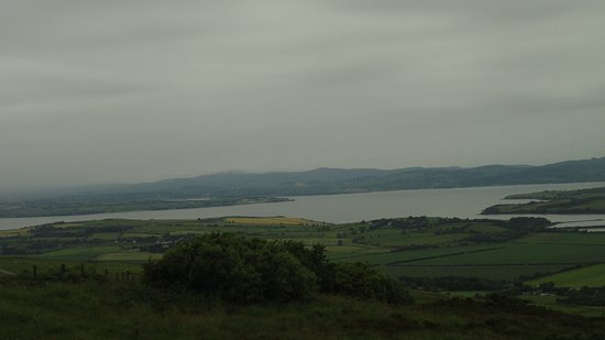 Grianan Aileach Ring Fort: View