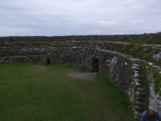 Grianan Aileach Ring Fort: Entrance