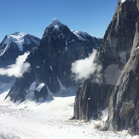 Talkeetna, AK: Flyover of Denali