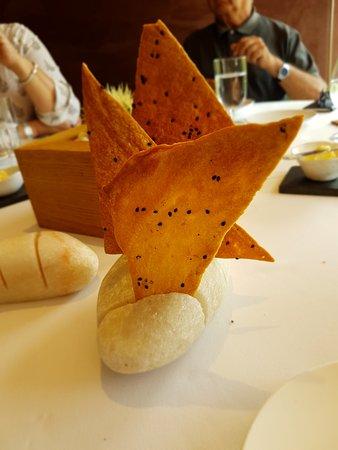 Poio, إسبانيا: Un pan extraordinario para disfrutar con una mantequilla de leche de vaca