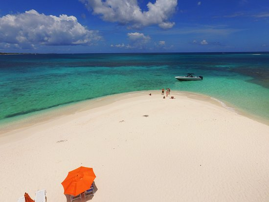 Baie Nettle, St Marteen/St. Martin : anguilla rendez vous bay