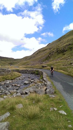 Eskdale, UK: The gentle downhill after the serious up.