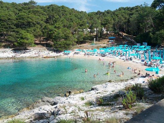 Mali Losinj, Κροατία: Spiaggia di Veli Zal