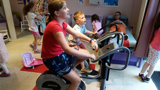 Imaginosity: Working out and see your heartbeat accelerate