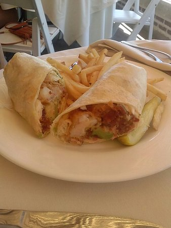 West Point, Nova York: Crispy Shrimp Wrap