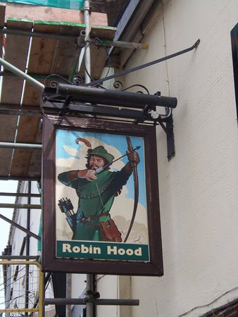 Monmouth, UK: The Sign