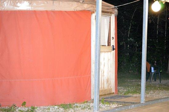 Delaware, OH: Yurt life