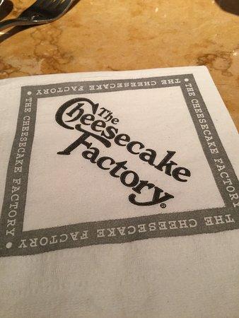 Cheektowaga, NY: Fancy napkin.