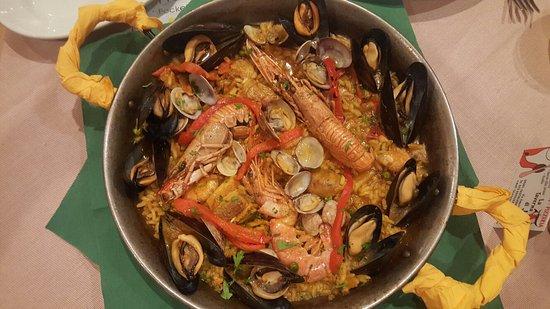 La Taverna di Julio: Heerlijke Paella speciaal voor 1 persoon gemaakt