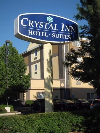Murray, UT: Crystal Inn sign