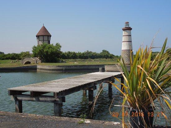 Courseulles-sur-Mer, Francia: Vue de la terrasse