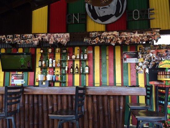 Mama Marley's: foto de la barra