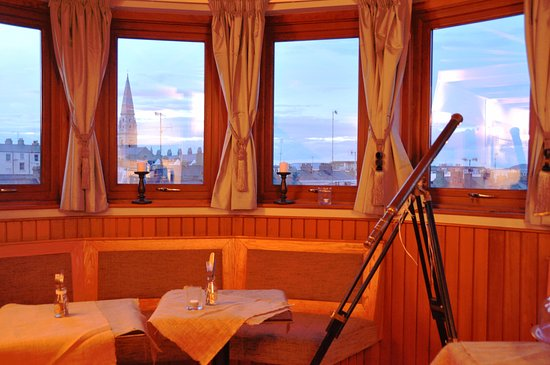 Bistro 73 by Phelim Byrne: Beautiful view of Dublin Bay from Bistro 73.