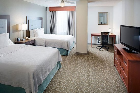 Bedroom two beds picture of homewood suites by hilton 2 bedroom hotel suites in san antonio texas