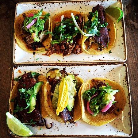 Puesto Mexican Street Food: Taco Tuesday! Novelty tacos.