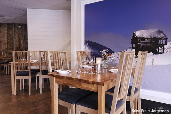 Hovden, Norway: Stomp & vatn restaurant
