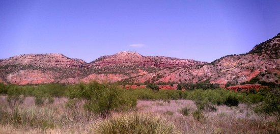 Canyon, TX: one of the glorious views