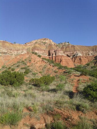 Canyon, TX: on the trail...