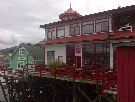 Prince Rupert, Kanada: Cow Bay Cafe
