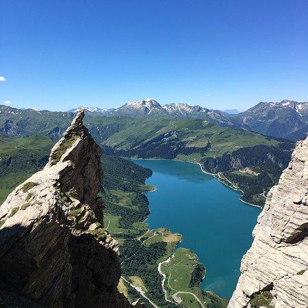 Peisey-Vallandry, Frankreich: Merci à l'équipe de montagne managée par Fred pour la découverte de ces merveilles. Une équipe p