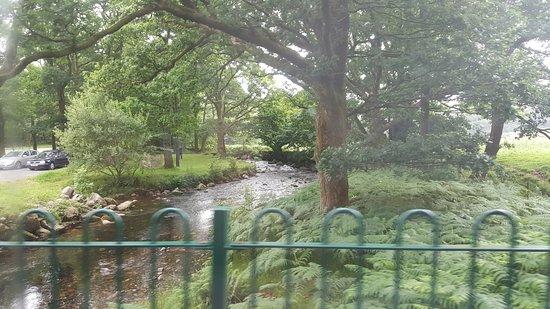 Ravenglass, UK: lovely scenery on route