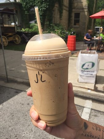 Cedarburg, WI: My wife's J-Latte.