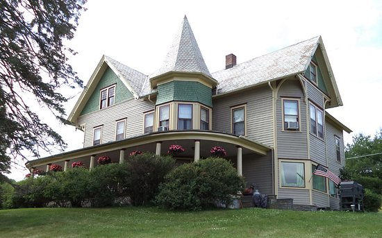Margaretville, estado de Nueva York: The 1890 house is a beauty.