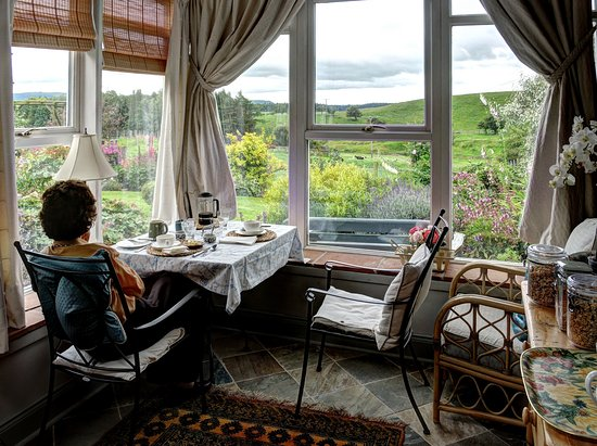 Wooler, UK: Breakfast with a view
