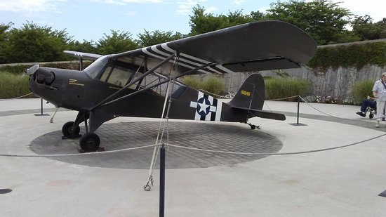 Bedford, VA: A plane on display