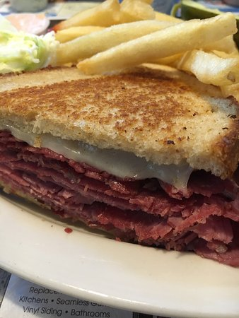 Schenectady, NY: Grilled corn beef