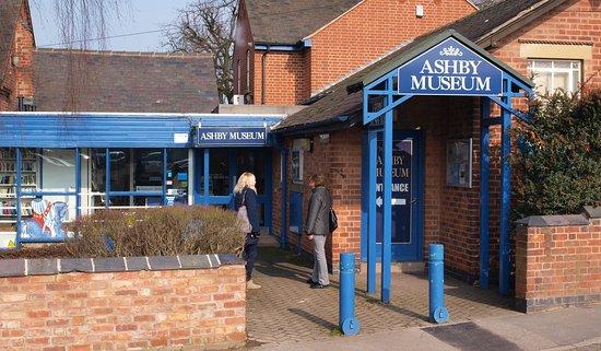 Ashby de la Zouch, UK: Museum entrance