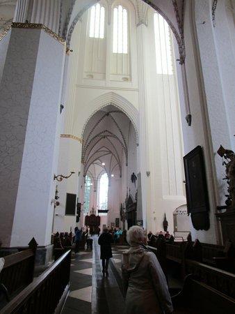 Warnemünde, Deutschland: Église Sainte-Marie, Rostock.