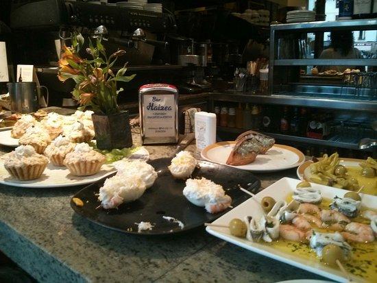 Restaurante bar haizea en san sebasti n con cocina otras - Cocinas san sebastian ...