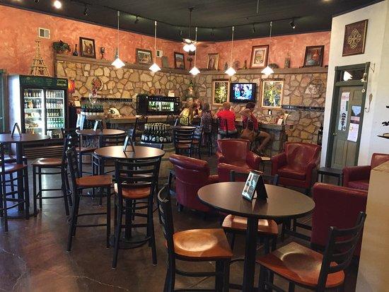 Deming, Nuevo Mexico: Bar area