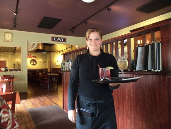 Pine Hill, NY: Kerry is an efficient server.