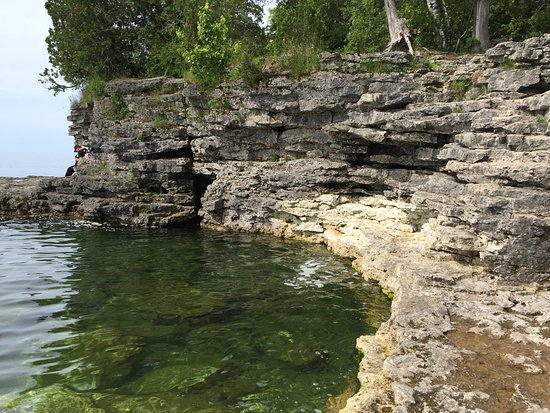 Sturgeon Bay, WI: A view from below