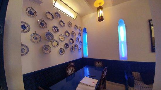le salon bleu: fotografía de Salon Bleu, Tánger - TripAdvisor