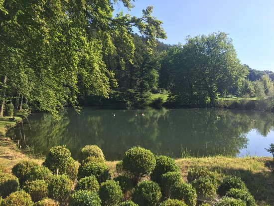 Fouron-le-Comte, Belgique : De prachtige vijver