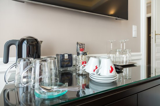 Hotel SPIESS & SPIESS Appartement-Pension: Complimentary Coffee and Tea