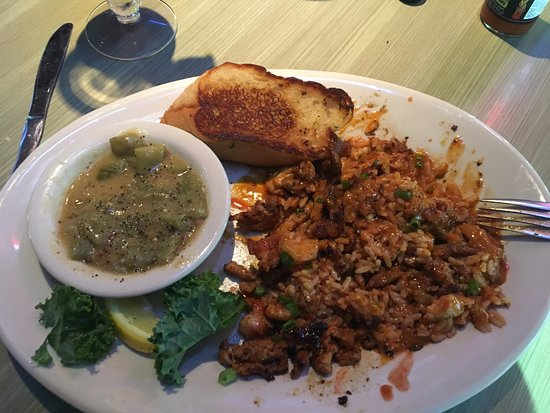 Round Rock, TX: Grilled Gator kicked up with Fire Mouth Cajun Sauce