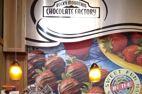 Rocky Mountain Chocolate Factory: Inside RMCF between Larimer Square ...