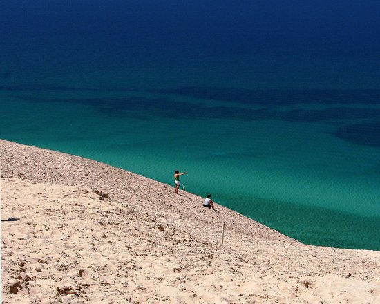 Glen Arbor, MI: Spectacular Sleeping Bear Dunes